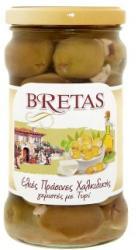 BRETAS Halkidiki zöld olívabogyó feta sajttal (290g)