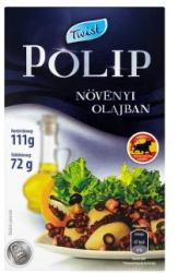 Twist Polip növényi olajban (111g)