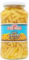 PREMIKO Vágott sárgahüvelyű vajbab (650g)