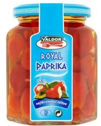 VALDOR Royal paprika sajtkrémmel (250g)