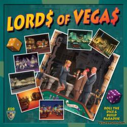 Mayfair Games Lords of Vegas - angol nyelvű