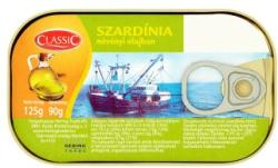 CLASSIC Szardínia növényi olajban (125g)