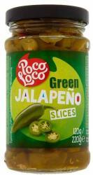 Poco Loco Szeletelt zöld jalapeño (220g)