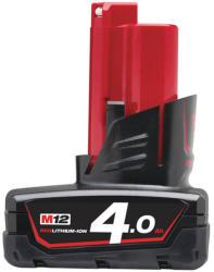 Milwaukee M12 B4 12V 4.0Ah Li-Ion (4932430065)