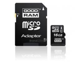 GOODRAM MicroSDHC 16 GB Class 4  SDU16GHCAGRR9