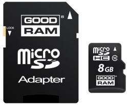 GOODRAM MicroSDHC 8GB Class 10 SDU8GHCUHS1AGRR10