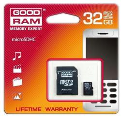GOODRAM microSDHC 32GB SDU32GHCAGRR10