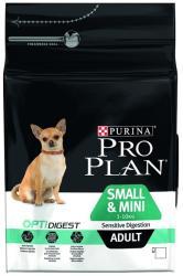 PRO PLAN OptiDigest Small & Mini Adult Sensitive Digestion 3kg