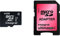 Integral MicroSDXC 64GB Class 10 INMSDX64G10-90/45U1