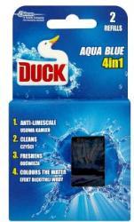 DUCK Aqua Blue 4in1 WC-öblítő utántöltő 2x40g