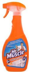 Mr. Muscle Bathroom & Toilet 5in1 fürdőszobai fertőtlenítő spray 500ml