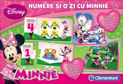 Clementoni Numere & O Zi cu Minnie (60205)