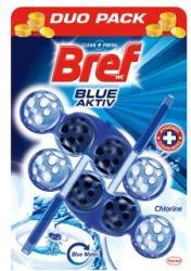 Bref Blue Aktiv Chlorine WC-frissítő 2x50g