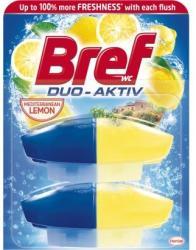 Bref Duo Aktiv Lemon WC-frissítő utántöltő 2x50ml