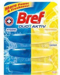 Bref Duo Aktiv Lemon WC-frissítő utántöltő 3x50ml