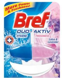 Bref Duo Aktiv Lotus & Lavender WC-frissítő 50ml