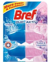 Bref Duo Aktiv Lotus & Lavender WC-frissítő utántöltő 2x50ml