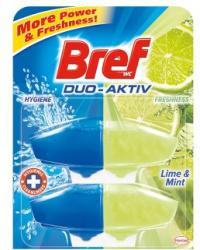 Bref Duo Aktiv Lime & Mint WC-frissítő utántöltő 2x50ml