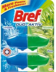 Bref Duo Aktiv Pine WC-frissítő utántöltő 2x50ml