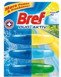 Bref Duo Aktiv Fresh-Mix WC-frissítő utántöltő 3x50ml