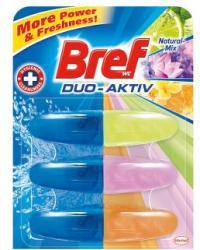 Bref Duo Aktiv Natur-Mix WC-frissítő utántöltő 3x50ml
