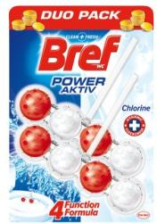 Bref Power Aktiv Chlorine WC-frissítő 2x50g
