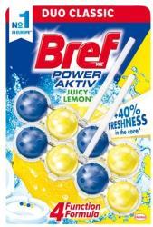 Bref Power Aktiv Lemon WC-frissítő 2x50g