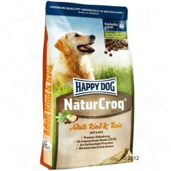 Happy Dog NaturCroq - Rind & Reis Adult 15kg
