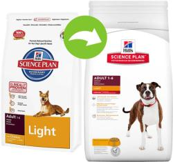Hill's SP Canine Adult Light Chicken 2 x 12kg