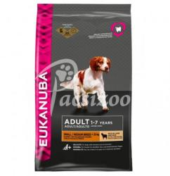 Eukanuba Adult Small&Medium Breed Lamb & Rice 12kg