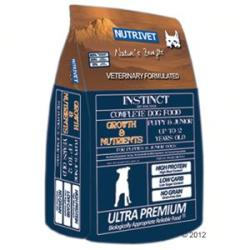 Nutrivet Instinct Growth & Nutrients 2x12kg