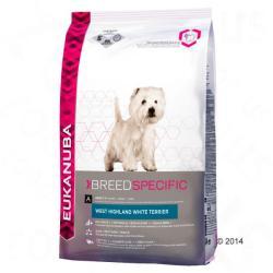 Eukanuba West Highland White Terrier 3 x 2,5kg