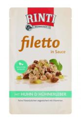 RINTI Filetto - Chicken & Chicken Liver in Sauce 125g