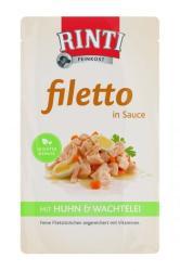 RINTI Filetto - Chicken & Quail Egg in Sauce 125g