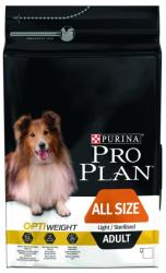 PRO PLAN All Size Adult Light/Serilised 3kg
