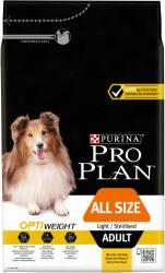 PRO PLAN OptiWeight All Size Adult Light/Sterilised 3kg