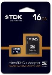 TDK MicroSDHC 16GB Class 4 T78724
