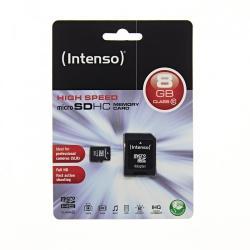 Intenso MicroSDHC 8GB Class 10 3413460