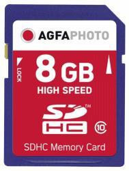 AgfaPhoto SDHC 8GB Class 10 10425