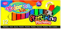 Colorino Kids Négyszögletű gyurmakészlet 12 db-os