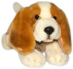 Keel Toys Basset fekvő kutyus 30cm