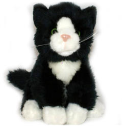 Semo Toys Fekete-fehér cica 18cm