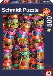 Schmidt Spiele Színes csészék 500 db-os (58228)