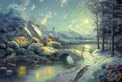 Schmidt Spiele Karácsonyi holdfény 500 db-os (58453)
