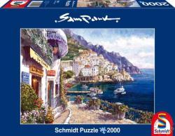 Schmidt Spiele Délután Amalfi-ban 2000 db-os (59271)