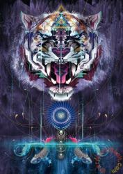 Schmidt Spiele Fauchender Tiger 1000 db-os (59323)