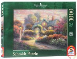 Schmidt Spiele Rosengarten-i házikó 1000 db-os (59466)