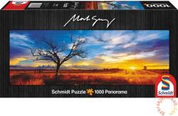 Schmidt Spiele Panoráma puzzle - Desert Oak at Sunset, Australia 1000 db-os (59865)