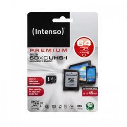 Intenso MicroSDXC Premium 64GB Class 10 3423490