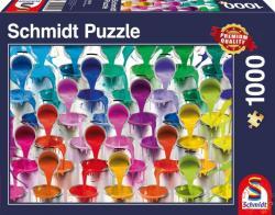 Schmidt Spiele Festékes vödrök 1000 db-os (58219)